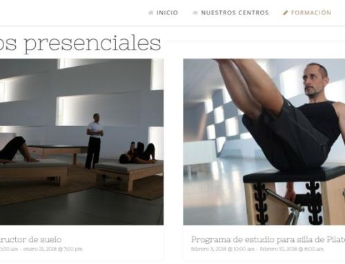 Cursos Formación en Pilates